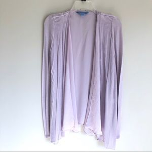 Simply Vera Wang Layered Open Front Cardigan